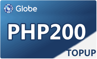 GLOBE TOPUP PHP 200