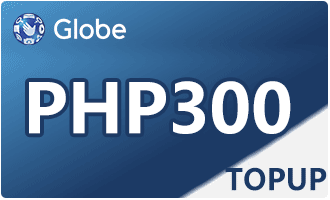 GLOBE TOPUP PHP 300