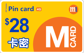 M1 card pin Super $28