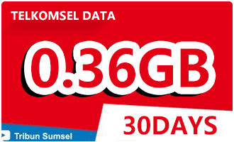 telkomsel data 30days0.36G